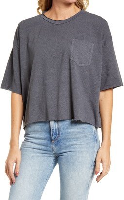 Desert Dreamer Raw Edge Oversize T-Shirt