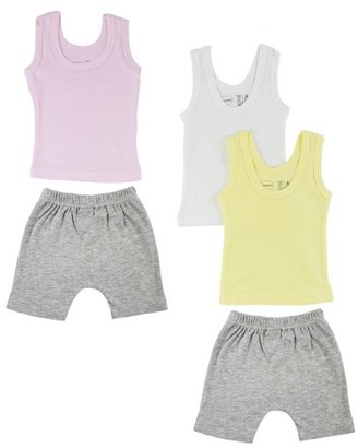 Bambini Girls Tank Tops and Shorts