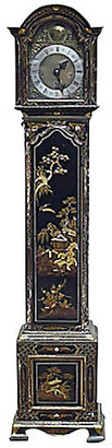 One Kings Lane Vintage Antique Chinoiserie Grandmother Clock - Vermilion Designs