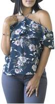 Minx Floral Shoulder Blouse