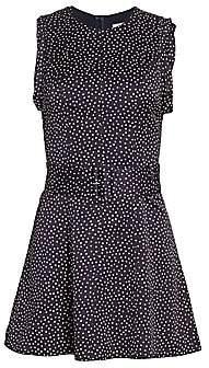 Alexis Women's Dutsa Polka Dot Belted Mini Dress