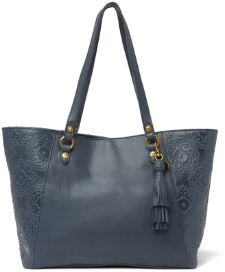 The Sak Sienna Medium Leather Tote Bag
