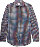 Richard James - Slim-fit Printed Cotton Shirt