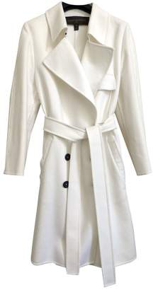 Louis Vuitton White Wool Trench coats