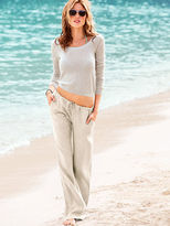 Victoria's Secret The Beach Pant in Linen