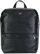 Emporio Armani boxy backpack