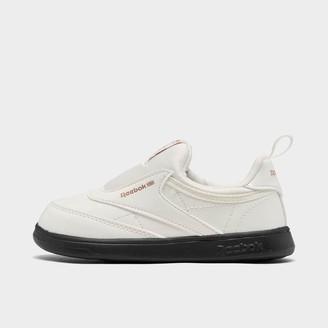 Reebok Girls' Toddler Club C Cardi Slip-On III Casual Shoes