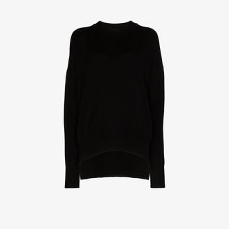 Jil Sander Side Slit Cashmere Sweater