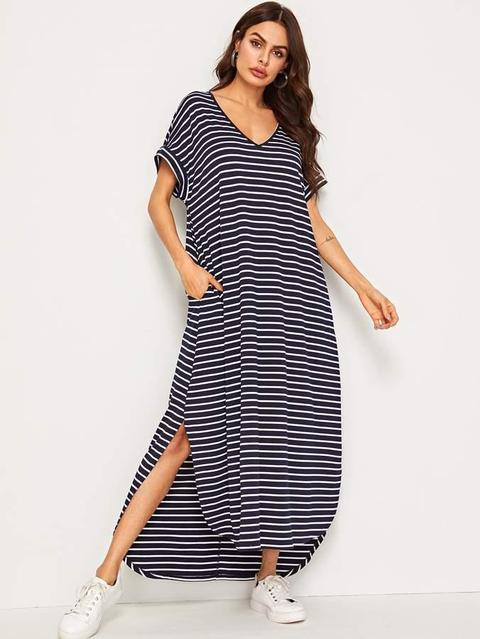 74f87251e9 Summer Dress With Side Pockets - ShopStyle