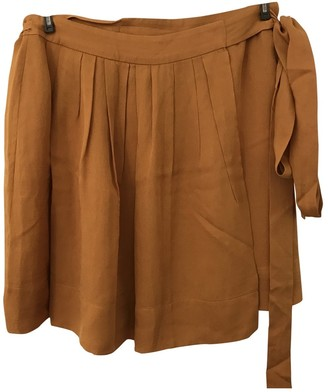 Isabel Marant Camel Silk Skirt for Women