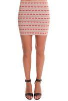 Pleasure Doing Business Hear Bandeed Mini Skirt
