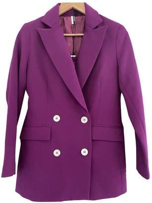 Topshop Tophop Purple Jacket for Women