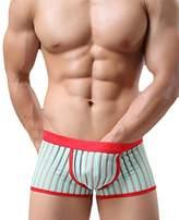Changeshopping Mens Soft Transparent Stripe Underwear Briefs Shorts Underpants