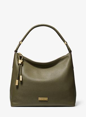 Michael Kors Lexington Large Pebbled Leather Shoulder Bag