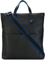 Furla contrast detail shopping bag - men - Leather - One Size