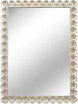 Chelsea House 35x47 Scallop Mirror, Silver