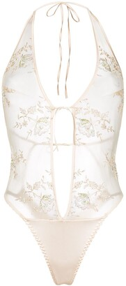 Belle Et Bon Bon Sheer Lace Body
