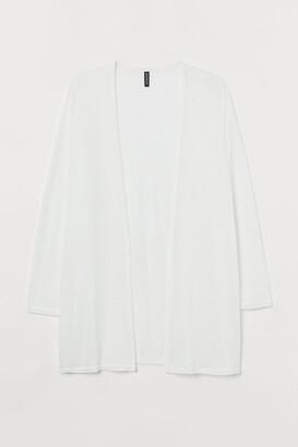 H&M H&M+ Loose-knit cardigan