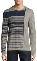 Saks Fifth Avenue Striped Roundneck Cotton Tee