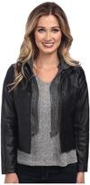 Gabriella Rocha Hooded Qulited Knit Jacket