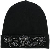 P.A.R.O.S.H. embellished beanie hat - women - Wool - One Size