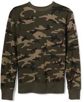 Gap Limited edition embroidered camo crewneck pullover