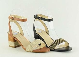 The Divine Factory Women's Lilas Ankle Strap Sandals