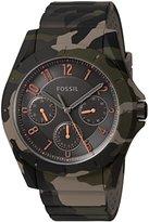 Fossil Women's Quartz Rubber and Silicone Casual WatchMulti Color (Model: FS5253)