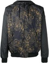 Versace print hooded jacket - men - Cotton/Polyester - 50