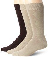 K. Bell Socks Men's 3-Pair Pack Fashion Crew Sock
