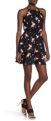 Love...Ady Floral Halter Neck Dress