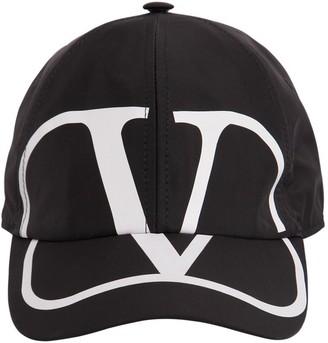 Valentino VLOGO PRINTED TECHNO BASEBALL HAT