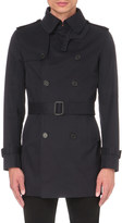 Sandro Magneticknit cotton trench coat