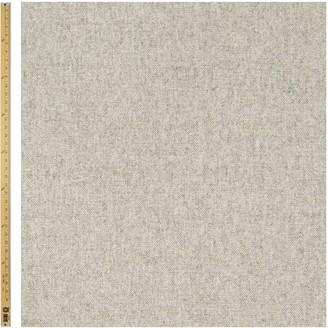 John Lewis & Partners Herringbone Fabric, Pale Grey