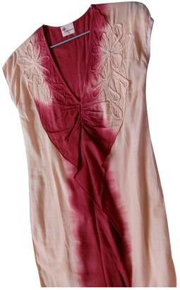 Stella Forest Pink Cotton Dress for Women