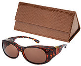 Foster Grant Haven Elegant Animal Print Fits Over Sunglasses