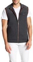 Tommy Bahama Island Explorer Faux Shearling Trim Vest (Regular & Big)