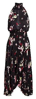 A.L.C. Women's Renzo Floral Pleated Blouson Dress