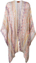 Missoni open knit cardigan - women - Cupro/Viscose/polyester - One Size