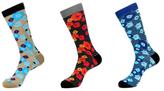 Jared Lang Floral Socks (3 PK)
