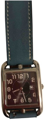 Hermes Cape Cod Silver Steel Watches