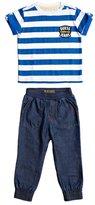 GUESS Short-Sleeve Tee and Pants Set (2-6x)