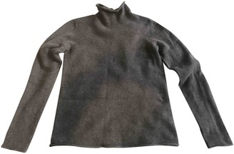 Agnona Anthracite Cashmere Knitwear for Women