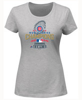 Majestic Women's Chicago Cubs World Series Champ Locker Room T-Shirt