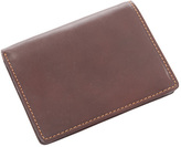 Ultimo Men's Tony Perotti Front Pocket Wallet with ID Flap Card Case