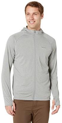 Exofficio BugsAway(r) Tarka Full Zip Hoodie (Admiral Blue) Men's Sweatshirt