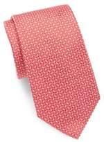 HUGO BOSS Arrow Patterned Silk Tie