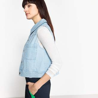 La Redoute Collections Sleeveless Denim Jacket