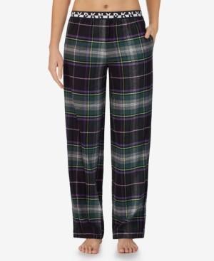 DKNY Plaid Sleep Pants