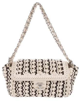 Chanel Crochet Accordion Flap Bag